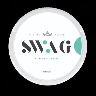 SWAG Minto all white snus