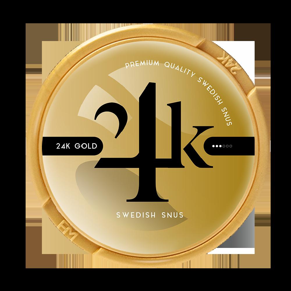 24k gold snus